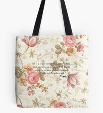 Pride and Prejudice and Zombies Tote Bag