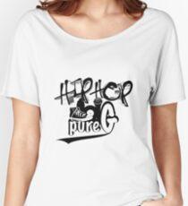 Hip Hop Generation Women's Relaxed Fit T-Shirt