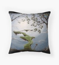 The Place Where Dreams May Grow Throw Pillow