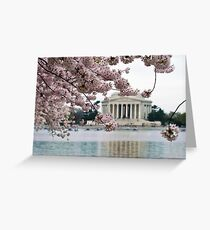 Underneath the Cherry Tree Greeting Card