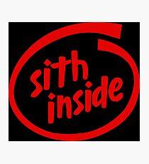 Sith Inside Photographic Print