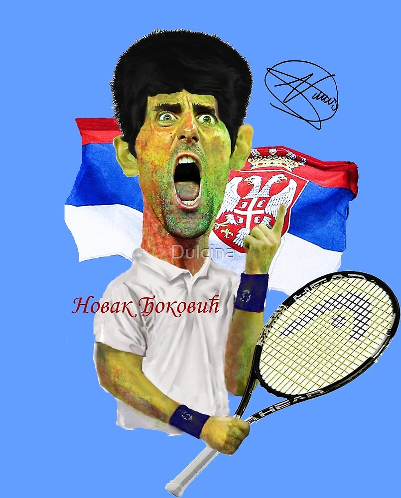 Djokovic number 1 by Dulcina
