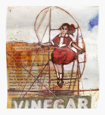 Melbourne Skipping Girl Poster