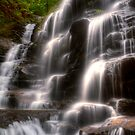 Sylvia Falls III - Blue Mountains NSW Australia by Brad Woodman