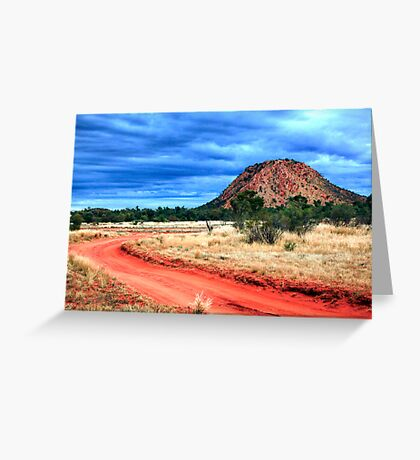 Road to Desert Storm Greeting Card