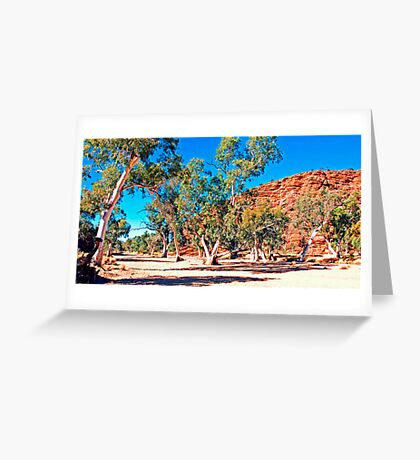 Honey Moon Gap Greeting Card