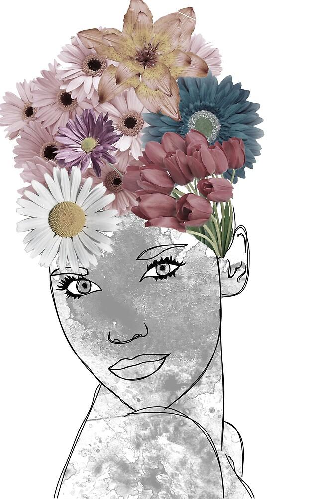 Flower head by gracefalck