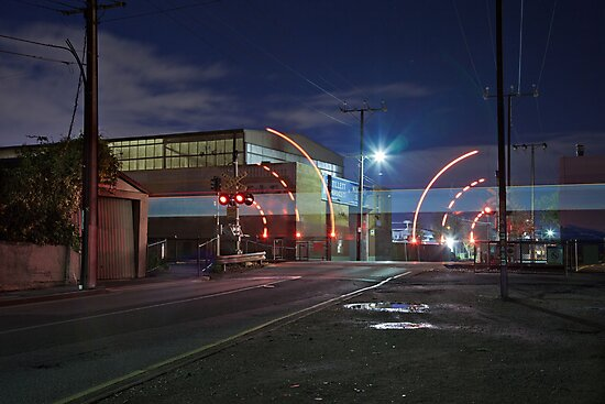 Train Passing (in the night) by Gavin Kerslake