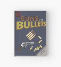 GUNS AND BULLETS Hardcover Journal