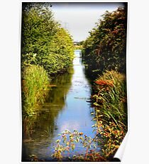 Nature and the waterway Poster