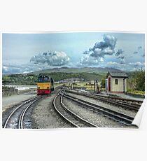 Porthmadog Railway Poster