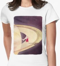 Saturn Child Womens Fitted T-Shirt