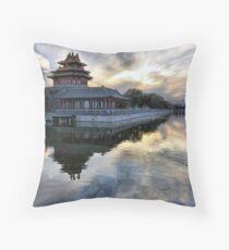 Forbidden City Sunset Throw Pillow