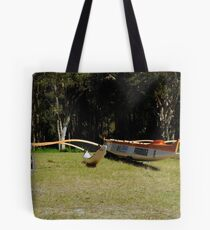 outriggers grounded  Tote Bag