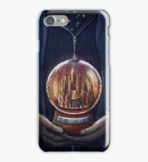 Doctor Who Gallifrey Snow Globe  iPhone Case/Skin