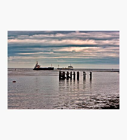 Teesport   River Tees Photographic Print
