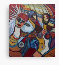 Picasso's Bride Canvas Print