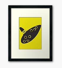 Ocarina Framed Print