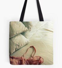 Bed Clothes Tote Bag