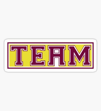 The 'i' in Team Sticker