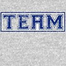 The 'i' in Team (distressed) by Tom  Ledin