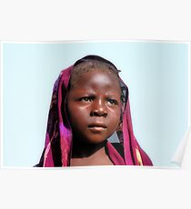 Mary 14 yeard old. Kebbe State, Nigeria. Poster