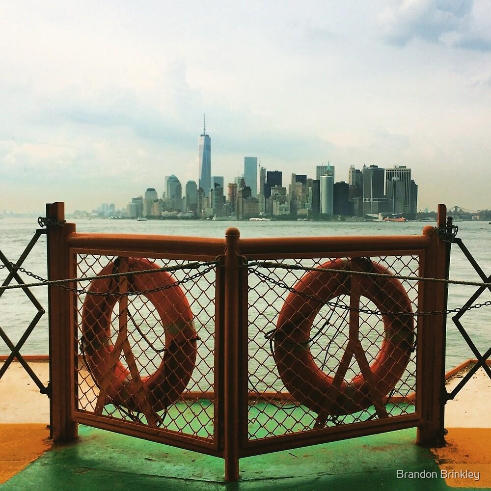 Hudson River NYC by BrandonBrinkley