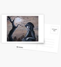 Samhain Postcards
