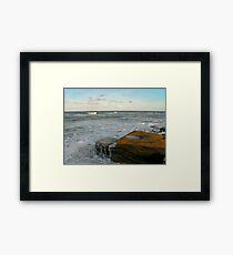 Washington Rocks #2. Flagler County. Framed Print