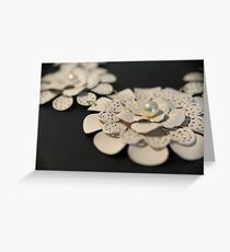 Pretty florals Greeting Card