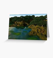 A View 2 Stare @ Greeting Card