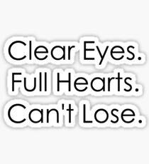 Clear Eyes Sticker