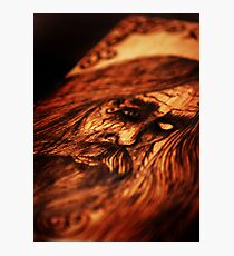 ODIN Wood Burning Photographic Print