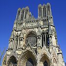 Cathedral Notre Dame de Reims by Anthony Goldman