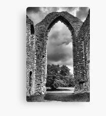 Leiston Abbey Canvas Print