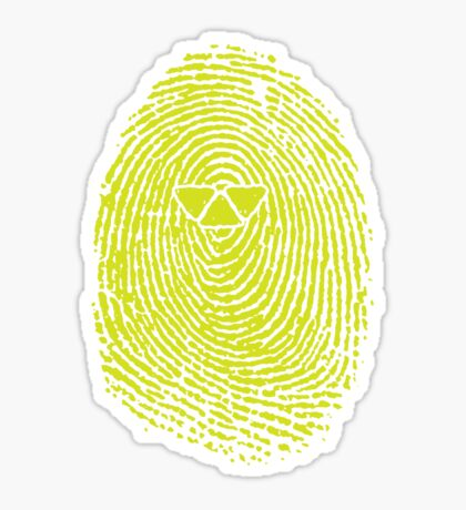 ARTIFICIAL FINGERPRINT Sticker