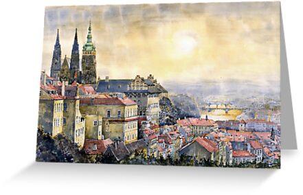Dawn of Prague  by Yuriy Shevchuk