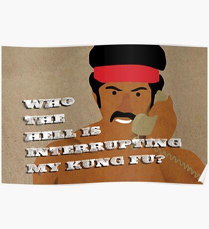 Black Dynamite's Kung-Fu Poster