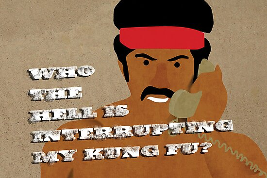 Black Dynamite's Kung-Fu by SixPixeldesign