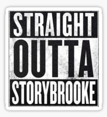Straight Outta Storybrooke Sticker