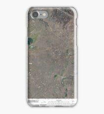 USGS Topo Map Washington State WA Telford 20110401 TM iPhone Case/Skin