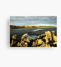 Beachport Rocks Canvas Print
