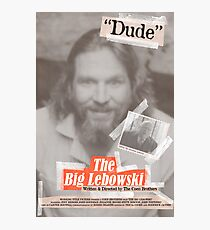 The Big Lebowski Tabloid Photographic Print