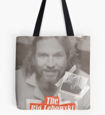The Big Lebowski Tabloid Tote Bag
