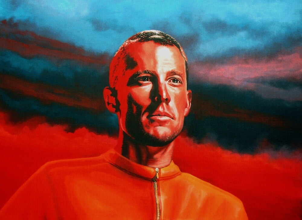 Lance Armstrong Painting by PaulMeijering