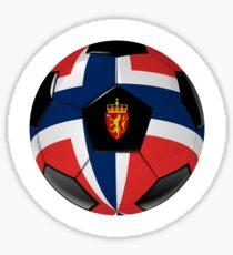 Norway - Norwegian Flag - Football or Soccer Sticker