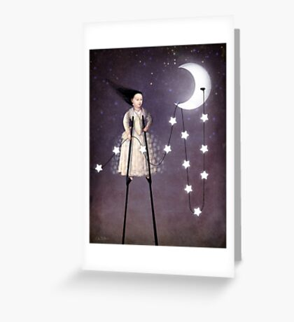 Where the starlight begins Greeting Card