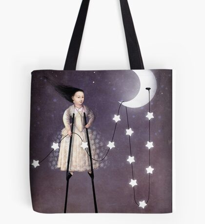 Where the starlight begins Tote Bag