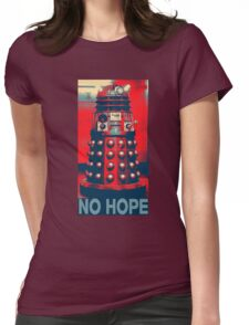 No Hope Dalek Womens Fitted T-Shirt