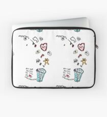 'This Bin houses All Gifts of Love that are Unreciprocated' Laptop Sleeve